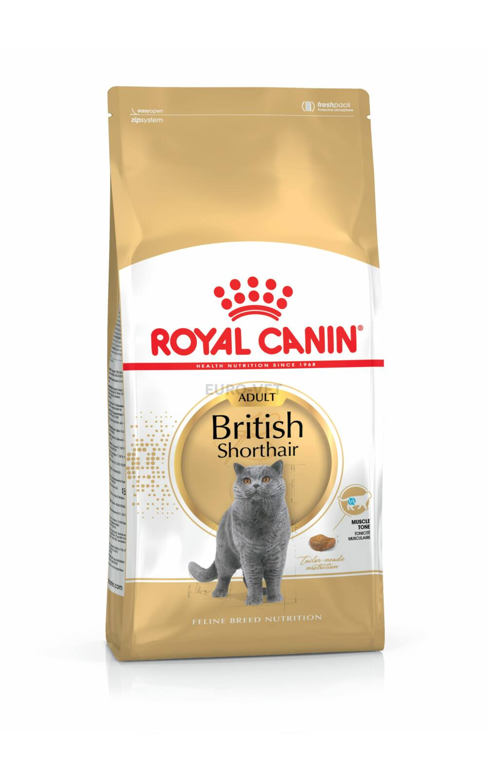 royal canin british shorthair adult 10 kg llateledel euro vet ruh z. Black Bedroom Furniture Sets. Home Design Ideas