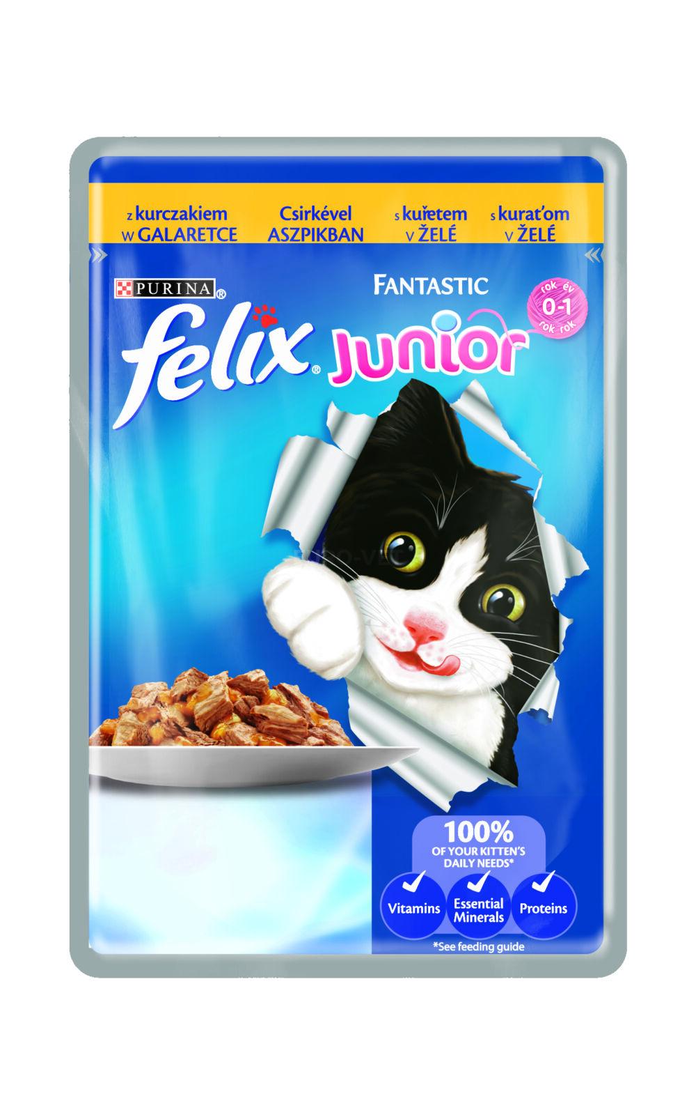 felix junior csirke 100 g feed euro vet webshop. Black Bedroom Furniture Sets. Home Design Ideas