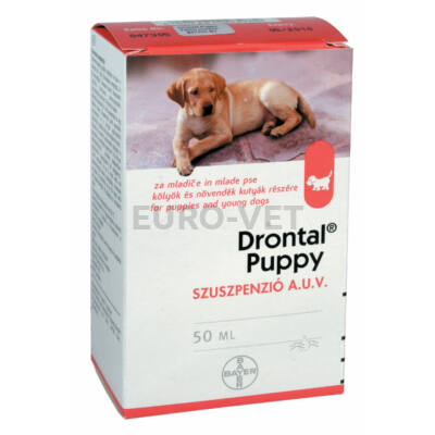 Drontal Puppy szuszpenzió A.U.V. (50 ml)