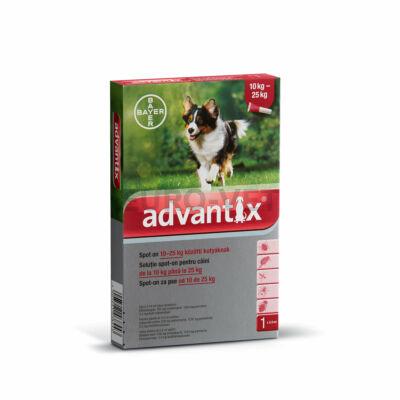 Advantix spot on 10-25 kg közötti kutyáknak A.U.V.