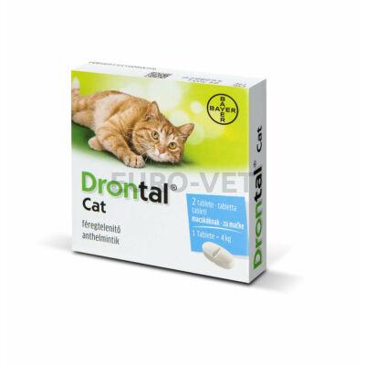Drontal Cat tabletta A.U.V. (2 tabletta)