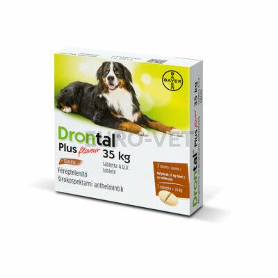 Drontal Plus 35 kg féreghajtó tabletta A.U.V. (2 tabletta)