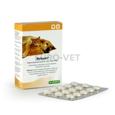 Relaxan nyugtató tabletta kutyák és macskák részére (30 db/doboz)