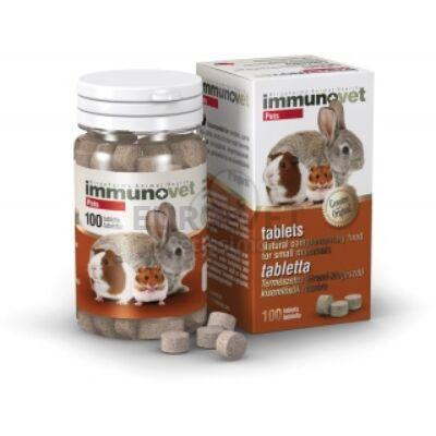 Immunovet Pets 100 tabletta rágcsálóknak