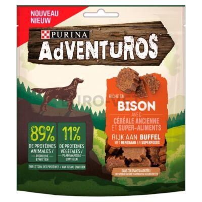 ADVENTUROS Bölényben gazdag kutya jutalomfalat ősgabonával és superfood összetevőkkel 90 g