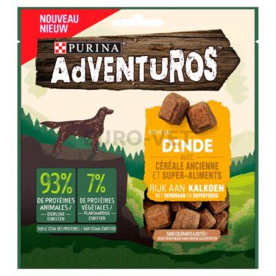 ADVENTUROS Pulykában gazdag kutya jutalomfalat ősgabonával és superfood összetevőkkel 90 g