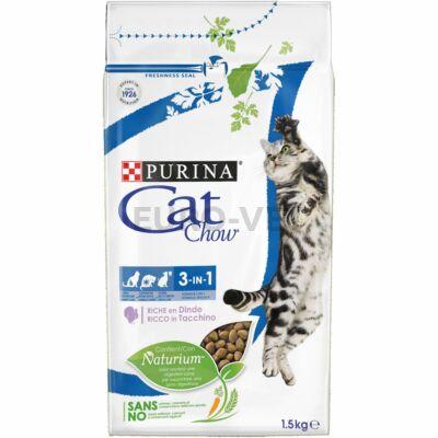 CAT CHOW Feline 3IN1 1,5 kg