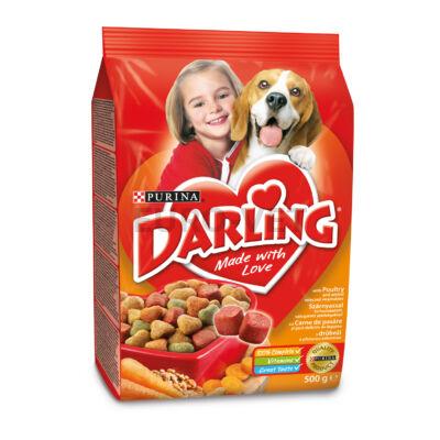 Darling Dry Dog Szárnyas+zöldség 500 g