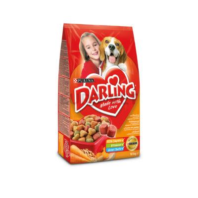 Darling Dry Dog Szárnyas + zöldség 10 kg