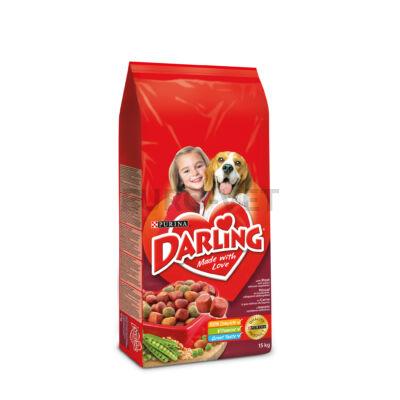 Darling Dry Dog marha+zöldség 15 kg