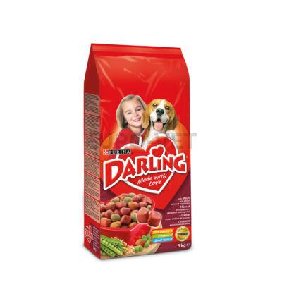 Darling Dry Dog marha+zöldség 3 kg