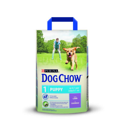 DOG CHOW Puppy Báránnyal 2,5 kg