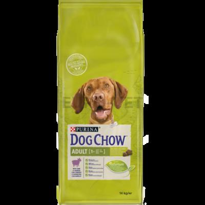 DOG CHOW Adult Báránnyal száraz kutyaeledel 2,5kg