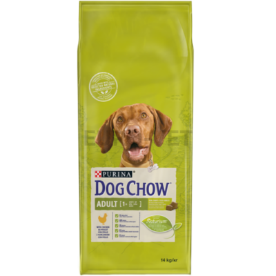 DOG CHOW Adult Csirkével 14 kg