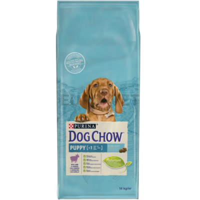 DOG CHOW Puppy Báránnyal 14 kg