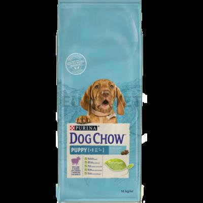 DOG CHOW Puppy Báránnyal száraz kutyaeledel 14kg