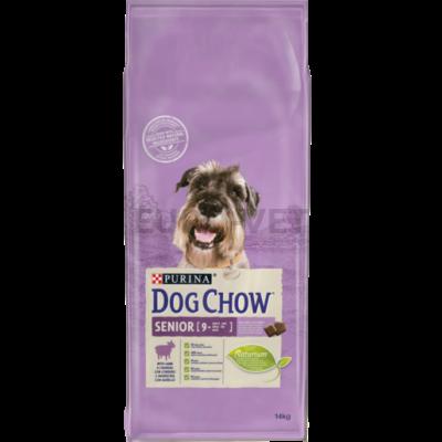 DOG CHOW Senior Báránnyal 14 kg