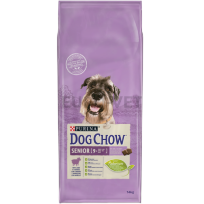 DOG CHOW Senior Báránnyal 14 kg
