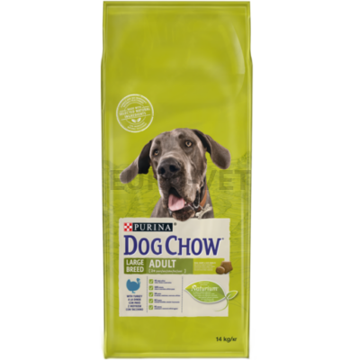 DOG CHOW Adult Large Breed Pulykával 14 kg