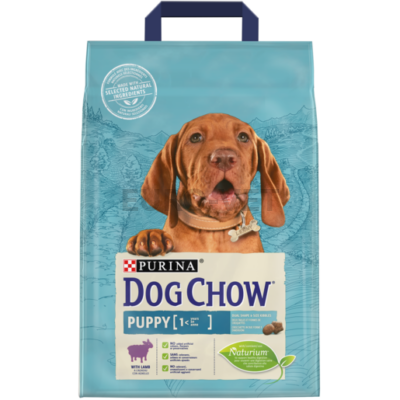 DOG CHOW Puppy Báránnyal 2,5 kg
