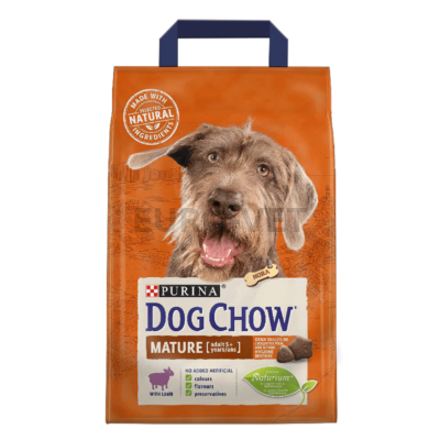 DOG CHOW Mature Adult Báránnyal 2,5 kg