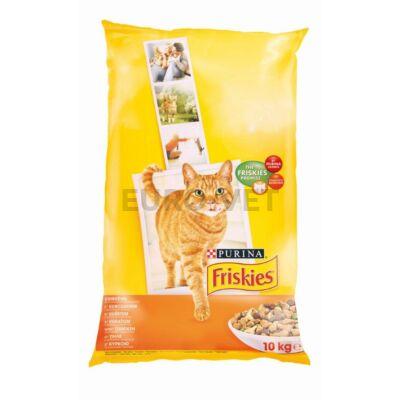 Friskies Dry Cat Csirke+zöldségek 10 kg
