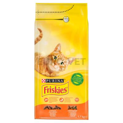 Friskies Dry Cat Csirke+zöldségek 1,7 kg