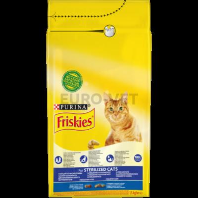 Friskies Dry Cat Sterilcat 1,5 kg