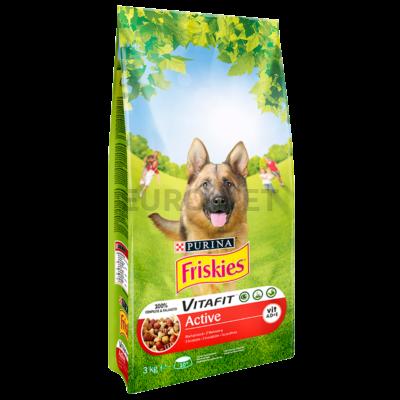 Friskies Dry Dog Active SMC 3 kg