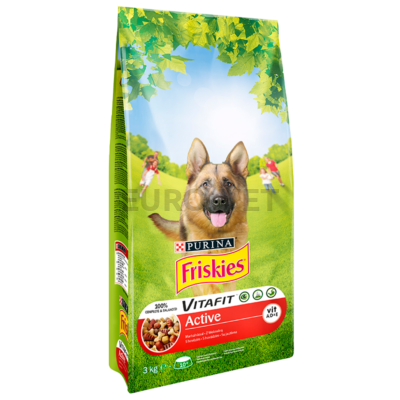 Friskies Dry Dog Active SMC 3 kg