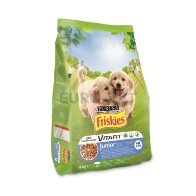 Friskies Dry Dog Junior Csirke 8 kg