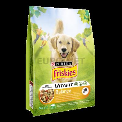 FRISKIES Balance Csirkével és zöldségekkel száraz kutyaeledel 500g