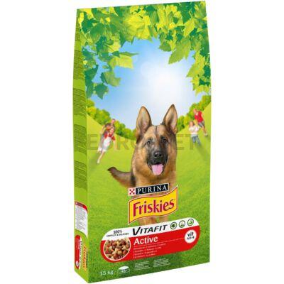 Friskies Dry Dog Active 15 kg