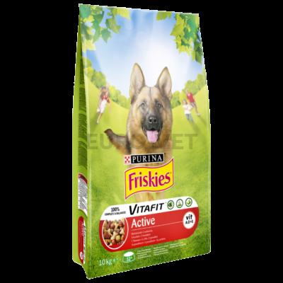 Friskies Dry Dog Active SMC 10 kg