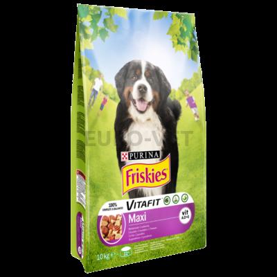 FRISKIES Maxi Marhával száraz kutyaeledel 10kg