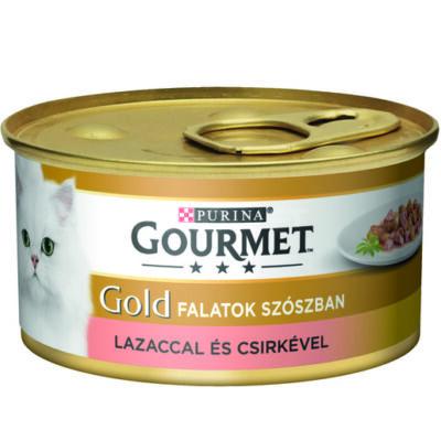 Gourmet Gold Lazaccal és csirkével szószban 85 g