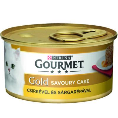 Gourmet Gold Savoury Cake Csirkével és sárgarépával 85g