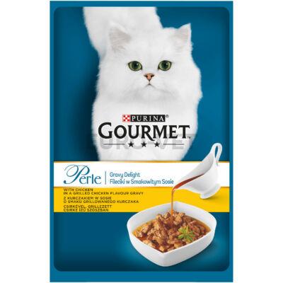 Gourmet Perle Gravy Delight Csirke 85g