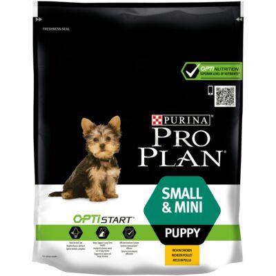 PRO PLAN Small & Mini Puppy OPTISTART csirkében gazdag száraz kutyaeledel 700g