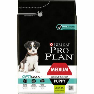 PRO PLAN Medium Puppy OPTIDIGEST bárányban gazdag száraz kutyaeledel 3kg