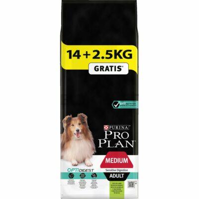 Pro Plan Medium Adult Sensitive Digestion OPTIDIGEST 14+2,5 kg