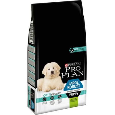 PRO PLAN Large Robust Puppy OPTIDIGEST bárányban gazdag száraz kutyaeledel 12kg