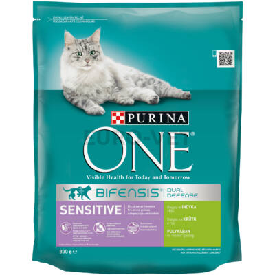 ONE Adult Sensitive Pulyka+rizs 800 g