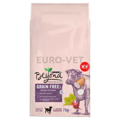 BEYOND Grain free marhával gabonamentes száraz kutyaeledel 7kg