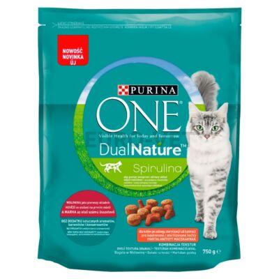 ONE Dual Nature Steril Marha - marhás szárazeledel ivartalanított macskák számára 750g