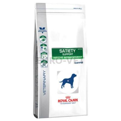 Royal Canin Satiety Support Weight Management - száraz gyógytáp felnőtt kutyák részére túlsúly csökkentése érdekében 12 kg