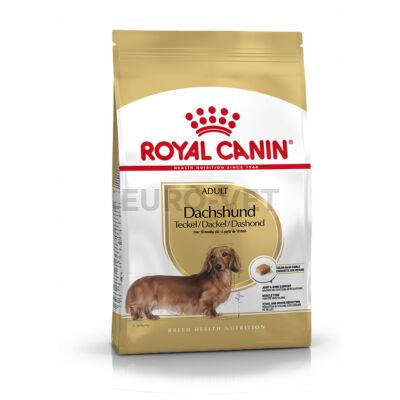 ROYAL CANIN DACHSHUND ADULT - Tacskó felnőtt kutya száraz táp 7,5 kg