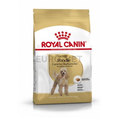 ROYAL CANIN POODLE ADULT - Uszkár felnőtt kutya száraz táp 7,5 kg