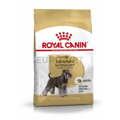 ROYAL CANIN MINIATURE SCHNAUZER ADULT - Törpe schnauzer felnőtt kutya száraz táp 3 kg