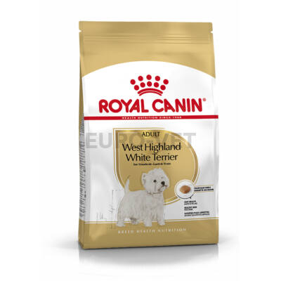 ROYAL CANIN WEST HIGHLANDER WHITE TERRIER ADULT - West Highlander White Terrier felnőtt kutya száraz táp 3 kg